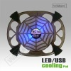 Laptop Dual Cooling Base/pads USB fans