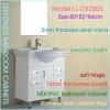 Leelongs PVC / MDF Bathroom Vanity Cabinet