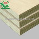 poplar face plywood 12mm