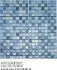 Glass mosaic for swimming pool tile SA302 mix colour