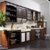 Melamine Particle board Kitchen Cabinet