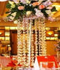 F001-60 single layer shining wedding & event party centerpiece