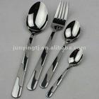 JHA 4 stainless steel dinner ware