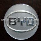 BYD car dome epoxy resin logo