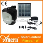 Cheap Portable Solar Lantern With Mobile Phone Charger