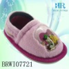 coral fleece baby inject shoes