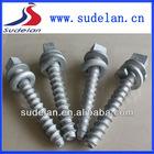 20*145/22*150 Square head screw spike of railway track fittings