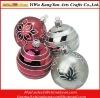 2012 New christmas glass ball