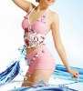 Fashionable Ladies Tankini with Trendy Color