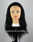100% human Hair training head