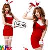 New Girl's Sexy Santa Costume XMAS08