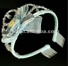 Plastic princess tiara and crown