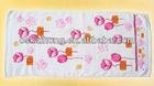 100% cotton velour reactive printing beach towel