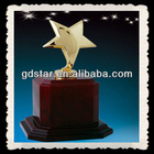 New design mental star awards trophy cup