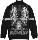 Active black sportswear sports jacket