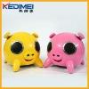 Kedimei usb portable mini speaker with pig shape(S6806)
