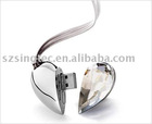 Hot sale Jewelry Usb flash memory real capacity