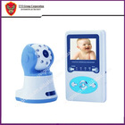 2.4inch baby monitor camera recorder, Color monitor, Clear Video