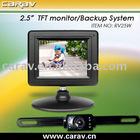 """wireless backup system-2.5"""" wireless backup system LCD monitor+CMOS Camera"""