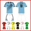100% polyester wholesale soccer jersey