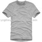 100% Cotton Men's Round Neck Short Sleeve Tshirts