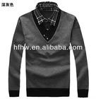Europen sytle Fashion slim men's knitwear