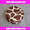 zebra fabric cosmetic box for promotion-HYGY010