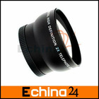 52mm Telephoto Lens 2.0x 52 mm 2x Optical Tele Lenses for Camera Camcorder