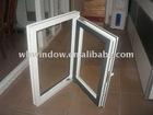 white PVC casement windows,pvc smart windows