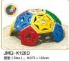 JMQ-K129D playground indoor climbing frames,kids climbing frames,playground teepee climbing frame,
