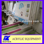 acrylic transparent photo frame rack