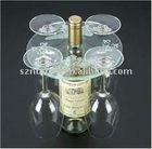 Top Cup Acrylic wine holder acrylic Wine stands