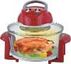 12L 1300W red colour halogen oven red color (JT-923)