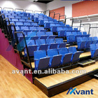 Selent sports tribune seating telescopic seating gym seating rail retractable seating
