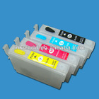 inkjet ink refill cartridge for epson XP-102/202 printer ,with T1811-T1814 refill cartridge