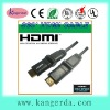 High speed 360 degree hdmi cable 1.4