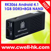 RK3066 Dual Core 1.6GHz smart TV box android 4.1