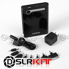 Black 7200mAh External Battery Charger Power Bank for Apple PSP Mini Micro USB