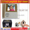 "The cheapest 2.8"" high clear peephole door viewer with function of taking pictures"