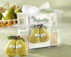 """""""The Perfect Pair"""" Refrigerator Magnet in Retro Kitchen Gift Box"""