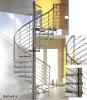 Glass Spiral Stair