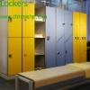 LIJIE 2 doors waterproof salon storage cabinets