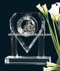 Wedding favor crystal clock