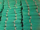 100%VIRGIN HDPE edge bounded building safety net