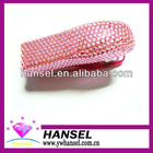 Pink plastic stapler diamond