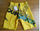 2012 Awesome Mens Surf Shorts Board Shorts Boardies Boardshorts yellow SZ 30