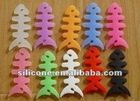 2012 New Arrival interesting and hot sale fishbone silicone cable winder