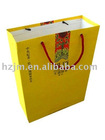 colorful printing paper shopping hand bag