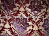 nylon velvet burn out & foil print