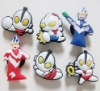 Soft PVC Ultraman gift toy shoe buckle for Gift /Sale